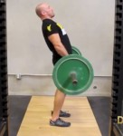 High-Hip Barbell Deadlift