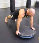 Standard Grip Bosu Ball Push-Up