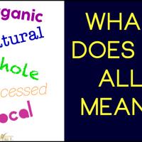 Understanding Food Terminology